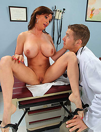 Brunette Patient Turned On By Doctor