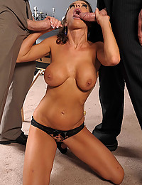 Milf Banged By Two Horny Dudes