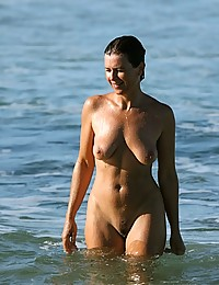 Nude beach hidden photos