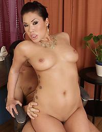 Horny Asian Minx Gets Jizzed On