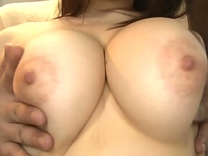Fingering a Big Breasted Japanese Teen With Her Panties On