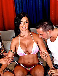 Busty Latina Cougar Jewels Banged