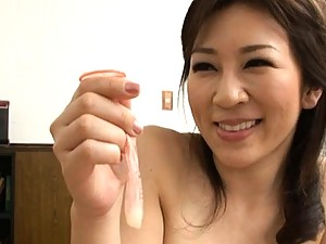 Mirei Kayama is drilled in wet vagina by her room mate