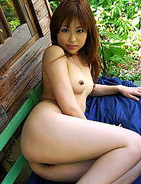 Sultry Asian Minx Exposes Hairy Muff