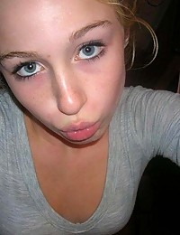 Collection of a cute amateur blondie's selfpics