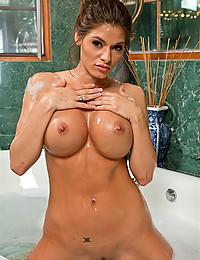 Beauty takes a bath