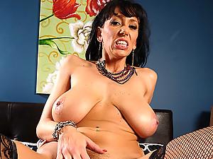 Busty Cougar Alia Banged Raw