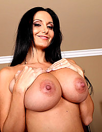 Amazing natural milf tits