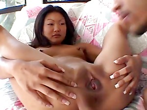 Beautiful Asian Slut Fucked By Big Cock.