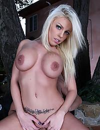 Luscious Blonde Britney Enjoys Fat Cock