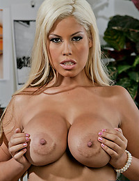 Big boobs office blonde
