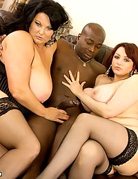 Two BBW sluts for black