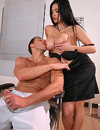 Busty Doc Seducing Her Patient