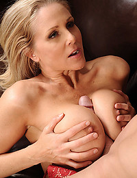 Tempting housewife with big tits