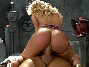 Gorgeous Blonde MILF Shyla Stylez Gets Ass Fucked and Facialized