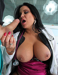 Seductive Doctor Fucks Nurse