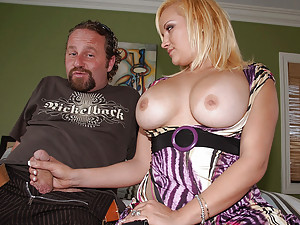 Busty milf wants his cock