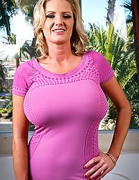 Impressively big milf tits