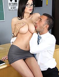 Office Tramp Amy Banged Raw
