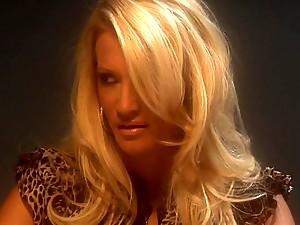 Two detectives interrogate Jessica Drake in interrogation room