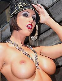 Classy Vixen Exposes Her Shaved Twat