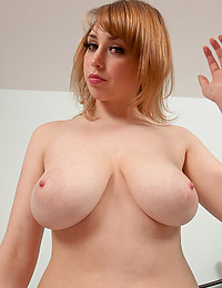Busty Beauty Louisa May Teases Us