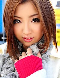 Slim Japanese teen solo pics