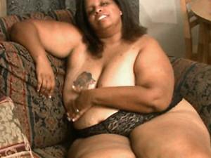 Fat tattooed girl solo