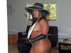 Big Blackie Getting Some Cock