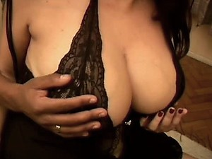 Breathtaking Glassed Latina Sucks and Fucks a Big Black Cock