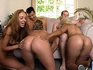 Bridgette B Stephanie Cane and Katie Summers Get Wild in this Hardcore Orgy