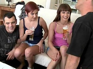 Eliska Cross In Graziella Diamond In Drunk Sex Orgy