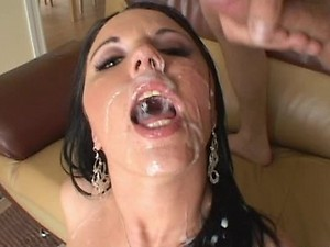 Lindsay Kay gets Gangbanged and Swallows Cock and Cum
