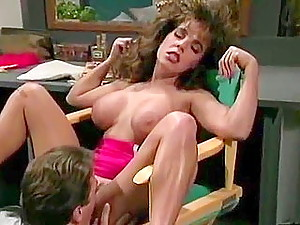 Hot wife with big boobs cheats in classics porn