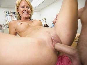 Milf Jenny Spreads For Dick