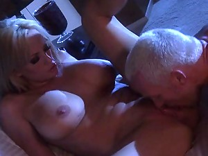 Blonde MILF Stormy Daniels Fucks a Big Cock and Gets a Cum On Ass