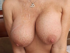 Freckled Milf Darla Impaled On Cock