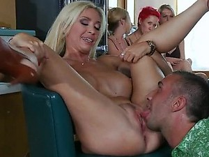 Foxy Blonde MILF Evita Pozzi Gets Fucked and Covered In Thick Jizz