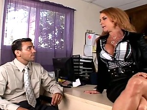 Janet Mason Loves To Be The Boss
