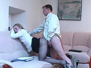 Ira&Peter kinky pantyhose action