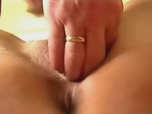 Wet pussy spread for dick