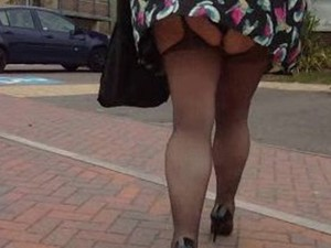 Suspender tights for Kev