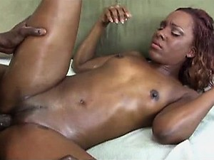 Ms Platinum Sucks and Fucks a Big Black Cock