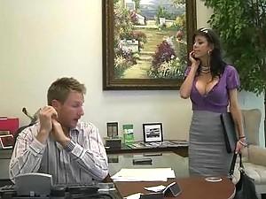 Hot Secretary Alexis Fawx