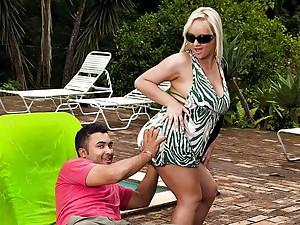 Cinthia Santos Teasing Husband