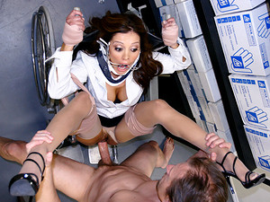 Porn Pros Network - Hot ass Doctor Milf Francesca Le is giving some physical examinations. This horny cougar Doc is hoping to break the rules and get herself examined by one of her perverted patients. He'll probe her dripping wet pussy and check down her