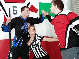 Referee Charisma Seduces Player