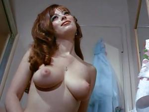 Classic porn scene with sensual lesbian massage