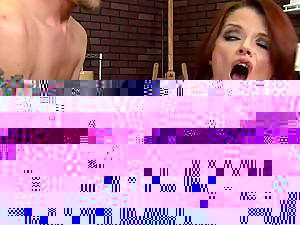 Awesome POV Sex With Stunning Brunette Pornstar Aletta Ocean