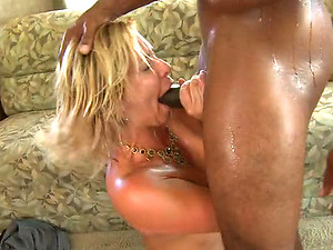 Deep Throated Anal MILF Phyllisha Ann Goes Interracial a Black Cock
